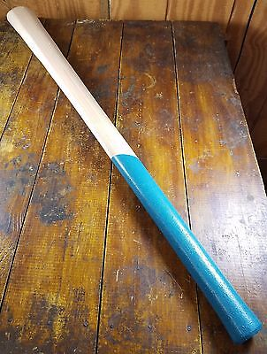 """36"""" Long Mattock Pick Blue Hand Grip Hickory Replacement Handle"""
