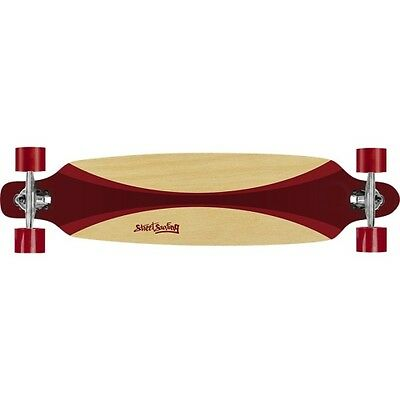 NEW Street Surfing 06-06-002 Skateboard Freeride 39in Carving Red 0606002