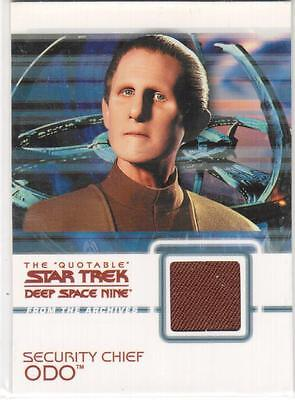 The Quotable Star Trek Deep Space Nine C3 Security Chief Odo Costume Card