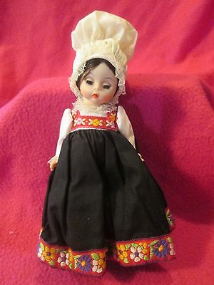 Vintage Madame Alexander Friends From Foreign Lands Norway Doll 8""