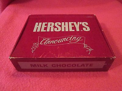 Hershey's Baby Birth Announcement Cigar Box With Cards 1983 Hershey's Food Corp