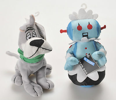 Jetsons Rosie the Robot & Astro Warner Bros. Plush Beanbag with Tags