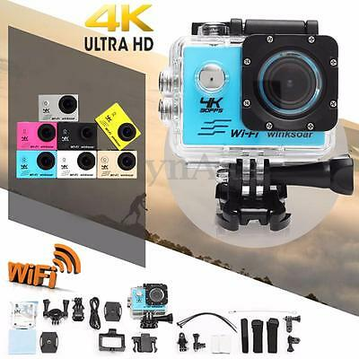Winsoar SJ9000 Waterproof Ultra 4K WiFi 2.0'' LCD Sports Action Camera Recorder