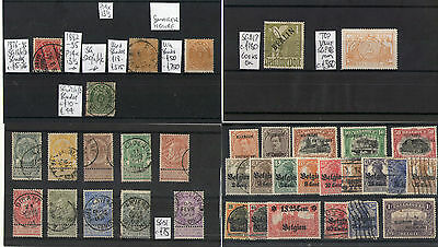 #323 EU & Colonies EARLY misc M/U on 13x cards Italy Austria Swiss Belge France.