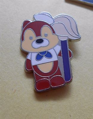 Disney Cruise Line - Chip Holding a Mop Lapel Pin