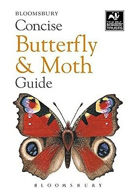 Concise Butterfly and Moth Guide (The Wildlife Trusts), , New Book
