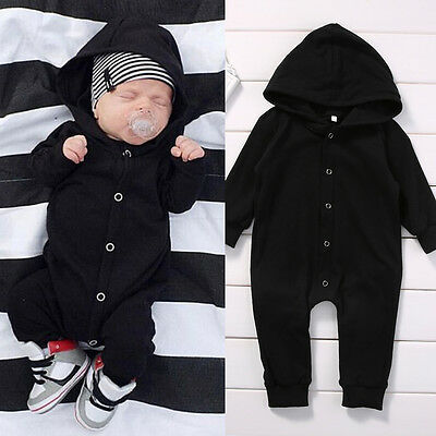 Toddler Infant Newborn Baby Boy Romper Jumpsuit Playsuit Clothes Outfits 0-24M