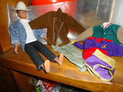 Ken Clothes and Doll Lot