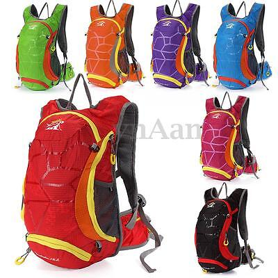 15L Bicycle Cycling Rucksack Backpack Hydration Pack Helmet Water Bladder Bag