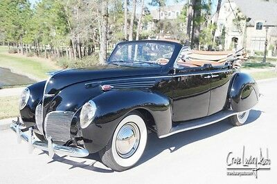 1938 Lincoln Other  1938 Lincoln Zephyr Convertible Sedan restored V12 Crave Luxury Auto.