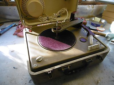 Philips Autosonic Disc-Jockey record player with valve amplifier