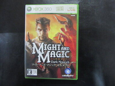 Might and MagicElements XBOX JP GAME.