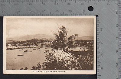 New Caledonia - Baie de la Moselle with 1943 Us Naval & Censor Pmks to Kansas