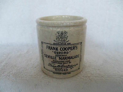 Rare Small Coopers Marmalade Pot