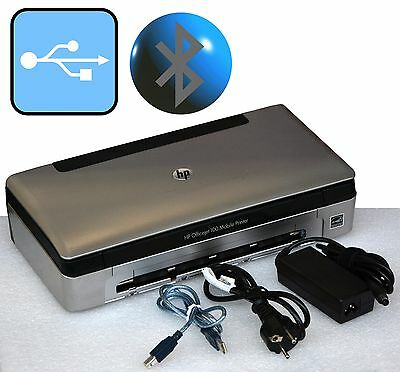 Wireless Mobile Printer Hp Officejet 100 Usb & Bluetooth For Win Xp 7 8 10