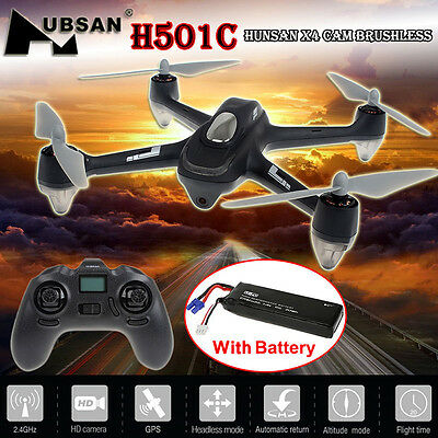Hubsan X4 H501C Brushless RC Quadcopter Drone w/ 1080P Camera GPS Altitude Hold