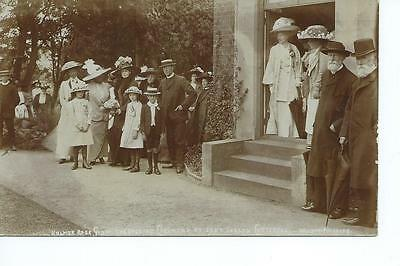 Herefordshire 1912 RP Holmer Rose Show Opening ceremony by Lady Evelyn Cotterel