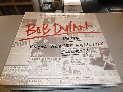 Bob Dylan - The Real Royal Albert Hall 1966 Concert! - 2LP Vinyl // New & Sealed