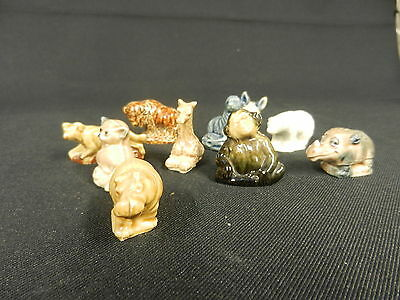 10 Wade Whimsie Animals Lot 2