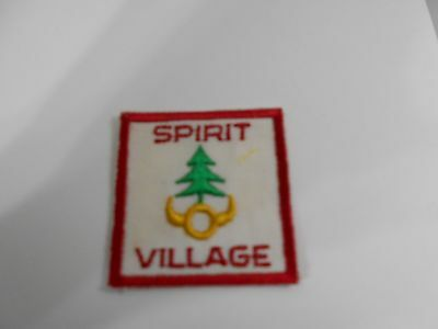 (Nw5-J)  Spirit Village   Ontario S22A   Canadian Scout Badges