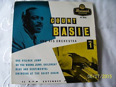 ' Count Basie & His Orchestra - Vol 1 ' -  - 1St Press - Ex Play - Collectable