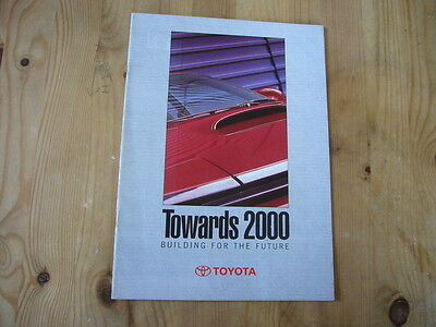 Toyota company brochure 1994, excellent condition