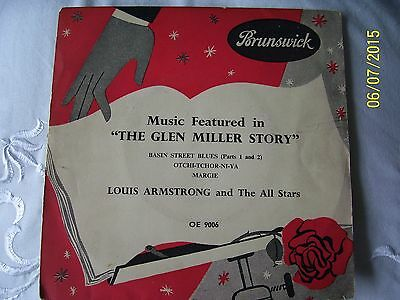 ' Louis Armstrong & His All Stars - ' The Glen Miller Story ' - 1St Press