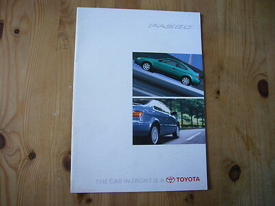Toyota Paseo brochure, 1996, excellent condition