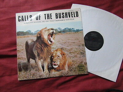 SOUND EFFECTS: Calls of the Bushveld RARE LP SOUTH AFRICA Animals