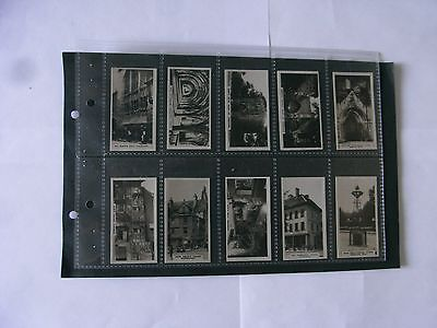 Full Set x 48 Westminister British Royal @ Ancient Buildings + Sleeves. 1926.