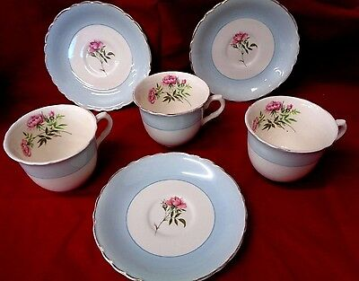3 Wilkinson Ltd Cups and 3 Royal Staffordshire Saucers (850)