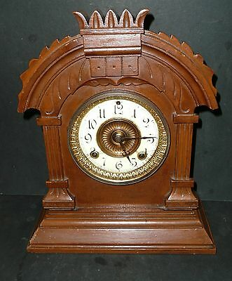 Victorian Ansonia mantle / shelf clock working order