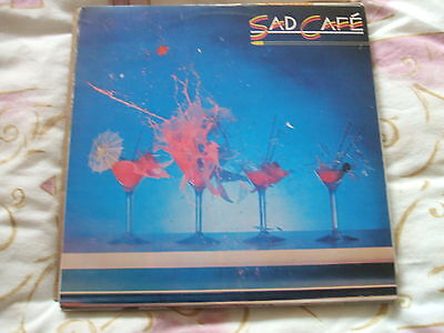 Sad Cafe s/t with insert, Portugal issue