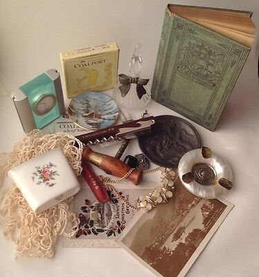Job Lot of Vintage Curios and Collectables mixed lot junk drawer cleanout. (19)