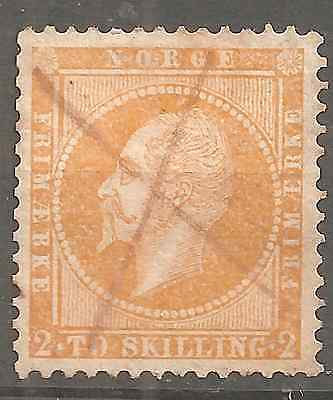 NORWAY # 2  2Sk YELLOW VERY HIGH CONDITION NO THINS,FOLDS,REPAIRED,BEAUTIF.COLOR