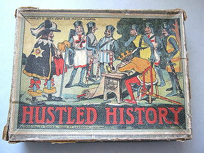 Chad Valley Very Rare Antique Card Game Hustled History 1920 Rules & Story Book