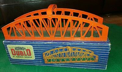 Hornby Dublo D1 Girder Bridge In Original Box (