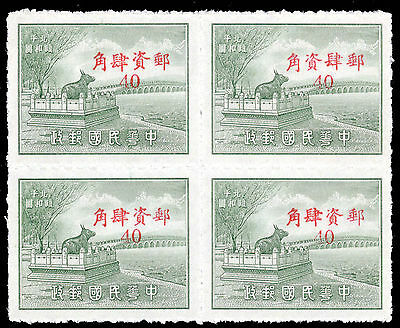 China Silver Yuan Peiping Summer Palace middle characters transposed mint 449