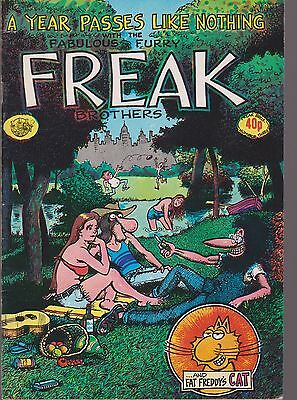 FABULOUS FURRY FREAK BROTHERS Nos 1 AND 3 HASSLE FREE PRESS PRICE 40p