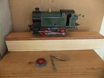 Hornby CW O Gauge Type 101 Tank Loco GW 6600 needs repair, not boxed