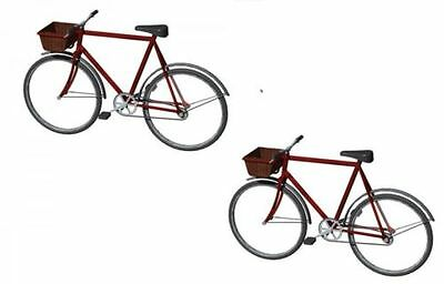 Hornby R8679 Skaledale Bicycles x 2 - 00 Gauge