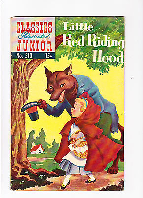 Classics Illustrated No.510  ::1954::  ::HRN 574::  :: Little Red Riding Hood ::