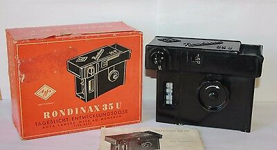 Agfa Rondinax 35 U DAYLIGHT Developing Tank, Boxed for 35mm film