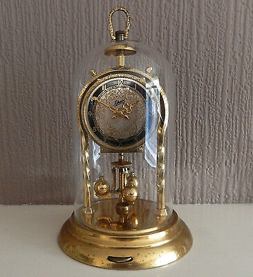 Excellent Schatz German Anniversary  Clock Fully Working  2622
