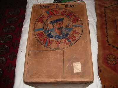 Vintage  Player,s Navy Cut Packing Box  Stamped LM&S Rail
