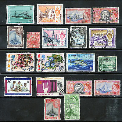 Mint & Used BERMUDA Selection.     69p ask.