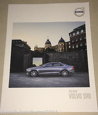 VOLVO - The New S90 Sales Brochure 2017