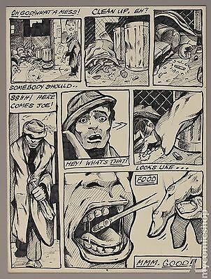 Set of 3 Early Unpublished Amateur Sequential Pages by Dale Keown