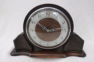 Vintage Art Deco Style John Francis Mantel Clock For Tlc