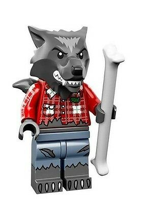NEW LEGO MINIFIGURE​​S SERIES 14 71010 - Wolf Guy